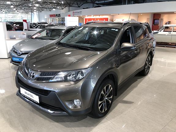 Toyota RAV4 2,0 D-4D 4WD Active m/DAB+ & Navi  2014, 88646 km, kr 259000,-