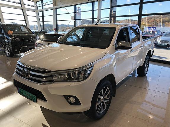 Toyota HiLux D-4D 150hk D-Cab 4WD SR+ aut m/DAB+  2016, 73192 km, kr 359000,-