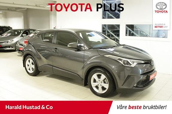 Toyota C-HR 1,8 WT-i Hybrid Active SERVICEAVTALE 3 ÅR, 1,95% RENTE  2018, 46336 km, kr 274000,-