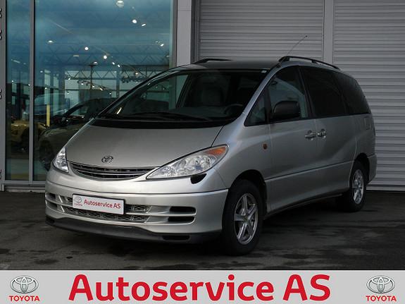 Toyota Previa aut  2001, 146000 km, kr 64000,-
