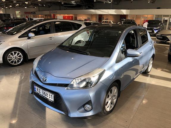 Toyota Yaris 1,5 Hybrid Style m/Panorama glasstak & Navi  2013, 66664 km, kr 129000,-
