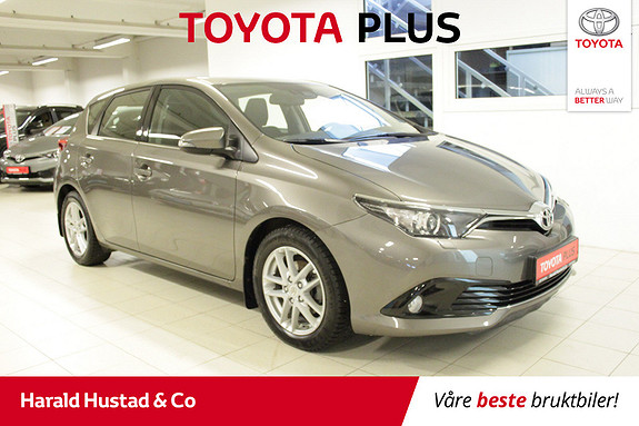 Toyota Auris 1,33 Dual VVT-i Active S SERVICEAVTALE 3 ÅR/1,95% RENTE  2018, 36694 km, kr 234000,-