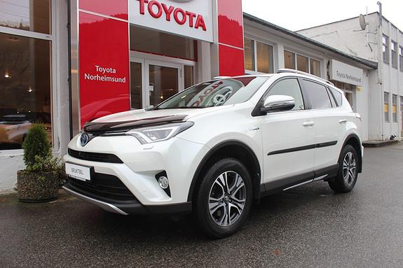 Toyota RAV4 2.5 Hybrid AWD Executive m/soltak, KROK, 1 EIGAR  2016, 59000 km, kr 369900,-