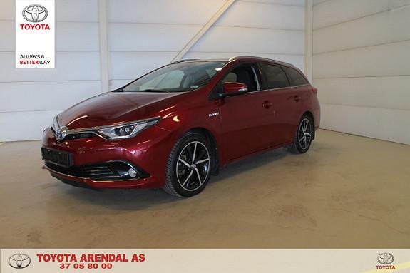 Toyota Auris Touring Sports 1,8 Hybrid Style Edition  2017, 43000 km, kr 219000,-