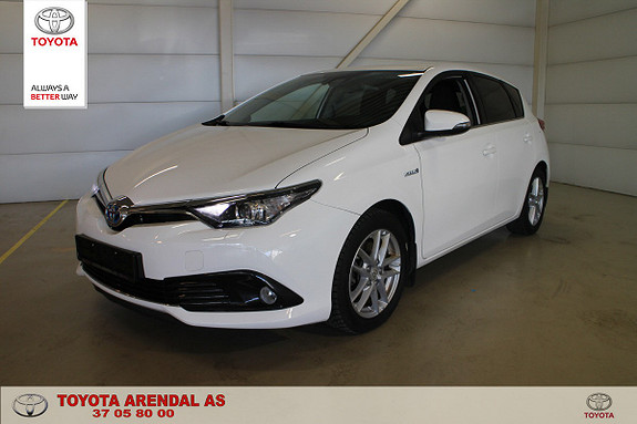 Toyota Auris 1,8 Hybrid E-CVT Active Sport  2017, 54300 km, kr 199000,-