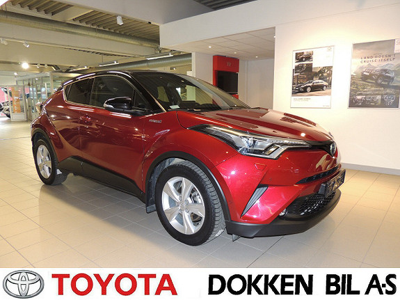 Toyota C-HR 1,8i Hybrid Lounge Tech  2018, 45000 km, kr 289000,-