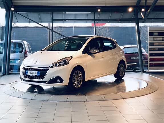 Peugeot 208 Allure 1,2 PureTech 82hk  2016, 26500 km, kr 139000,-