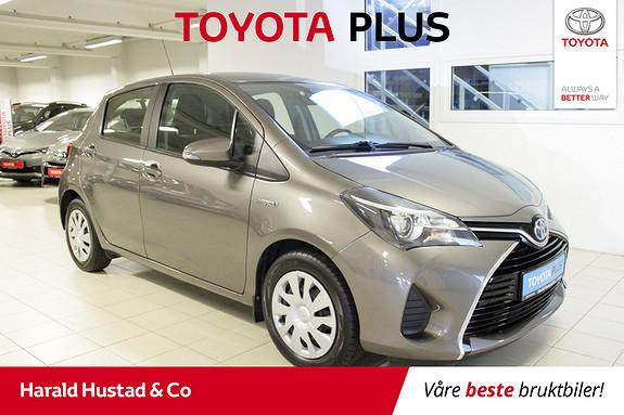 Toyota Yaris 1,5 Hybrid Active S e-CVT  2016, 63142 km, kr 159000,-