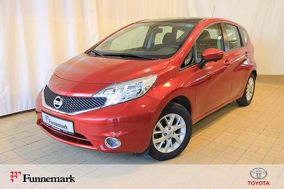 Nissan Note 1,2 80hk Acenta Tech Panorama  2014, 44657 km, kr 99000,-
