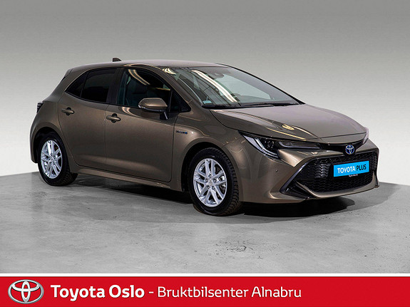Toyota Corolla 1,8 Hybrid e-CVT Active Tech  2019, 19586 km, kr 344900,-
