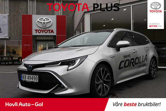 Toyota Corolla 2,0 Hybrid e-CVT Touring Sports Executive Panorama/NAVI  2019, 12 400 km, kr 399 900,-