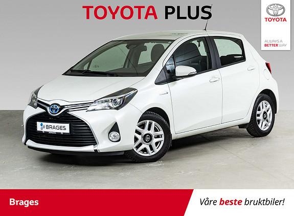 Toyota Yaris 1,5 Hybrid Active S e-CVT Navi, Cruise, DAB+, R.kamera  2016, 27900 km, kr 169000,-