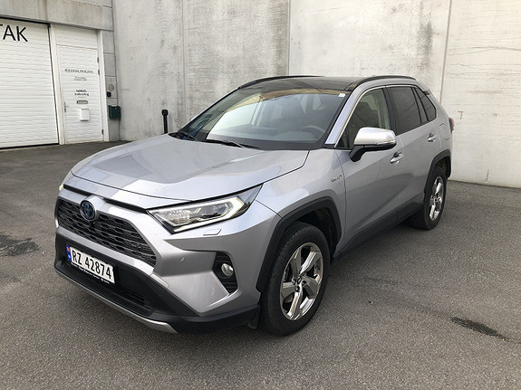 Toyota RAV4 Hybrid AWD-i Executive aut Panorama glasstak  2019, 11728 km, kr 549000,-