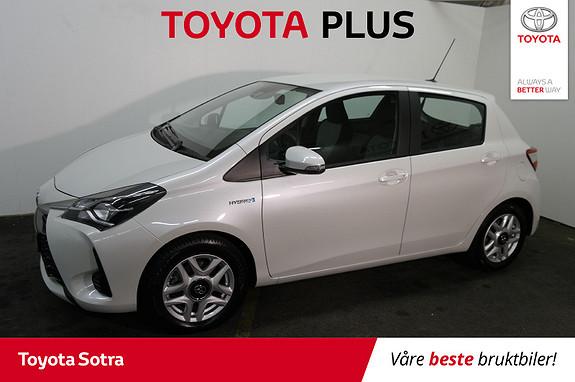 Toyota Yaris 1,5 Hybrid Active Go e-CVT aut  2018, 10370 km, kr 215000,-