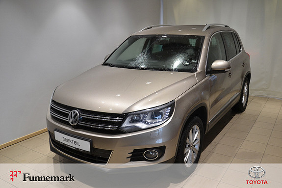 Volkswagen Tiguan 2,0 TDI 140hk 4M Sport & Style BMT DSG  2012, 107800 km, kr 198000,-