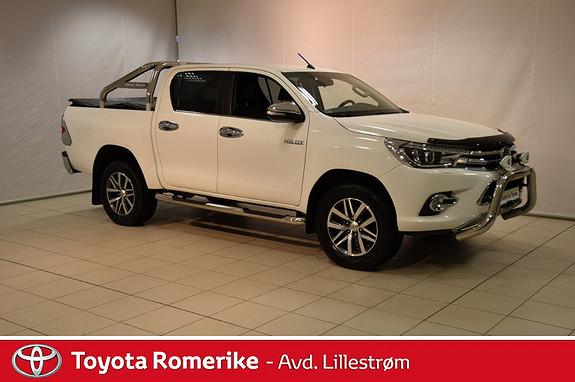 Toyota HiLux D-4D 150hk D-Cab 4WD SR+ aut Mye utstyr  2016, 47145 km, kr 390000,-