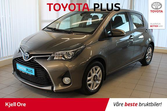 Toyota Yaris 1,5 Hybrid Active S e-CVT Cruisekontroll, BT ++  2016, 46654 km, kr 169000,-