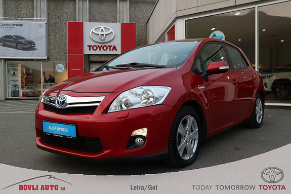 Toyota Auris 1,8 Hybrid E-CVT Executive Alle servicer | Ryggekamera  2012, 75480 km, kr 129900,-