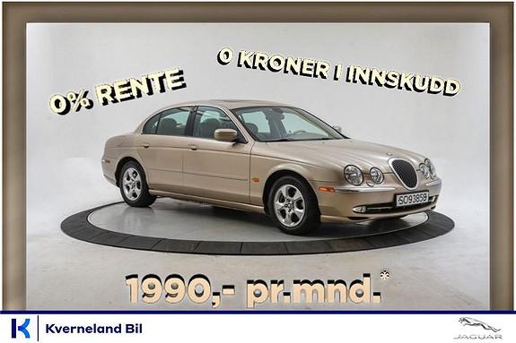 Jaguar S-TYPE 3.0 V6 238 HK Automat, 0 KR I INNSKUDD, 0 % RENTE*  1999, 191000 km, kr 99000,-
