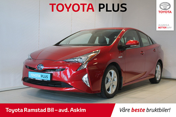 Toyota Prius 1,8 VVT-i Hybrid Executive  2016, 42000 km, kr 239000,-