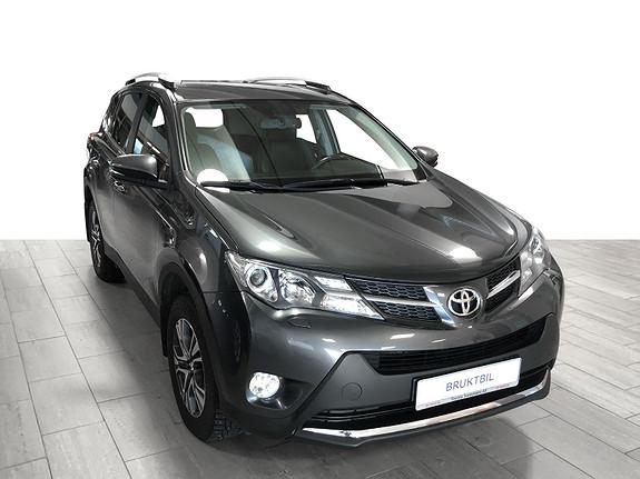 Toyota RAV4 2,2 D-4D 4WD Active **VELHOLDT** KAV KM**RYGGEKAMERA  2013, 103446 km, kr 229000,-