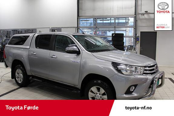Toyota HiLux D-4D 150hk D-Cab 4WD SR+ aut  2019, 6800 km, kr 459000,-