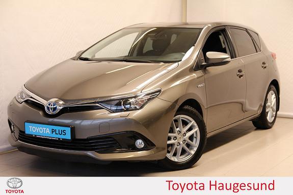 Toyota Auris 1,8 Hybrid E-CVT Active  2018, 50609 km, kr 239000,-