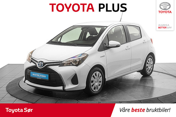 Toyota Yaris 1,5 Hybrid Active S e-CVT  2016, 20349 km, kr 159000,-
