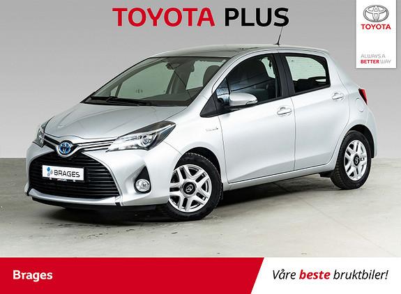 Toyota Yaris 1,5 Hybrid Active S e-CVT Navi, P.sens, R.kam, Cruise  2016, 20300 km, kr 169000,-
