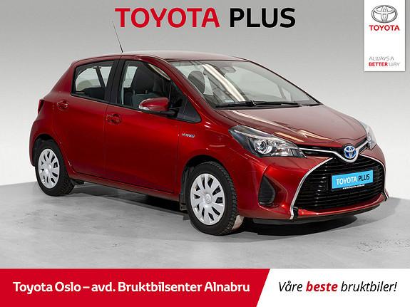 Toyota Yaris 1,5 Hybrid Active e-CVT  2015, 27379 km, kr 159900,-