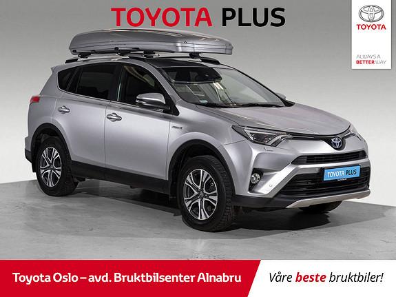 Toyota RAV4 Hybrid 2WD Active Style  2017, 52681 km, kr 344900,-