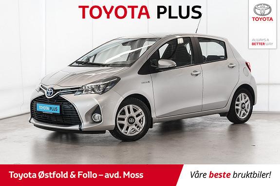 Toyota Yaris 1,5 Hybrid Active S e-CVT / CRUISE / ALU / DAB+  2017, 37100 km, kr 178000,-