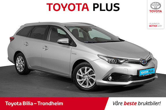 Toyota Auris Touring Sports 1,8 Hybrid Active  2017, 60 100 km, kr 209 000,-