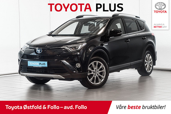Toyota RAV4 Hybrid AWD Executive  2018, 18646 km, kr 445000,-