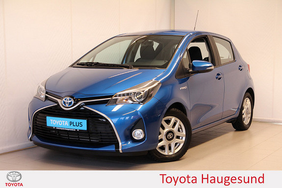 Toyota Yaris 1,5 Hybrid Active S e-CVT  2016, 10067 km, kr 169000,-