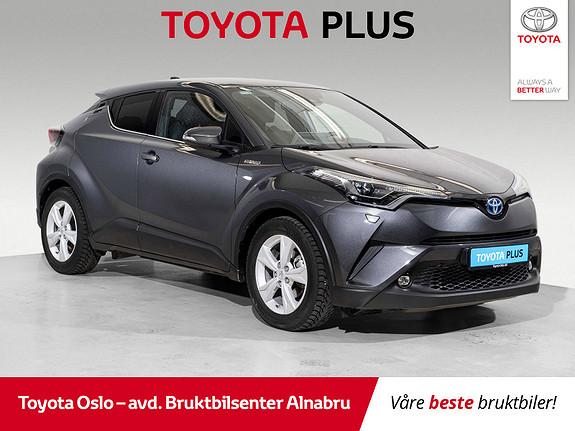 Toyota C-HR 1,8i Hybrid Lounge Tech  2019, 16538 km, kr 349900,-