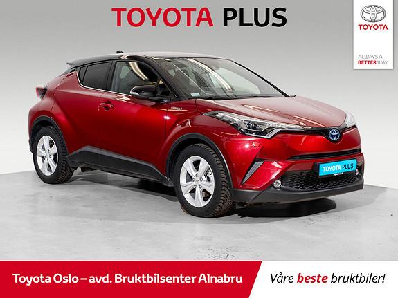 Toyota C-HR 1,8i Hybrid Lounge Tech  2019, 10629 km, kr 344900,-