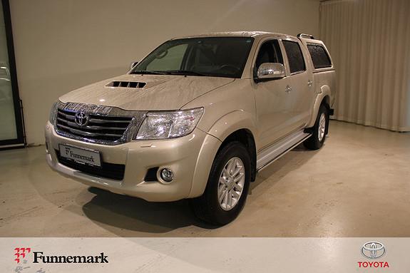 Toyota HiLux D-4D 144hk Double Cab 4WD SR+  2014, 62500 km, kr 249000,-