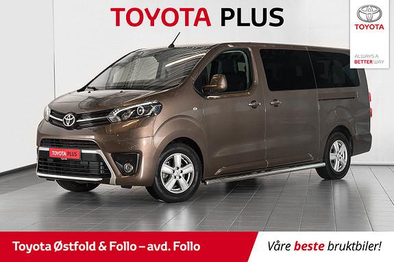 Toyota Proace Verso Lang 2,0D 177 Executive Family aut / VARMER / ANTIRUST  2019, 19844 km, kr 659000,-
