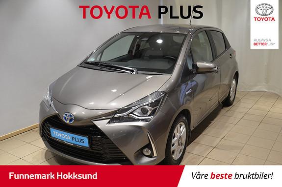 Toyota Yaris 1,5 Hybrid Active e-CVT aut  2018, 45200 km, kr 189000,-