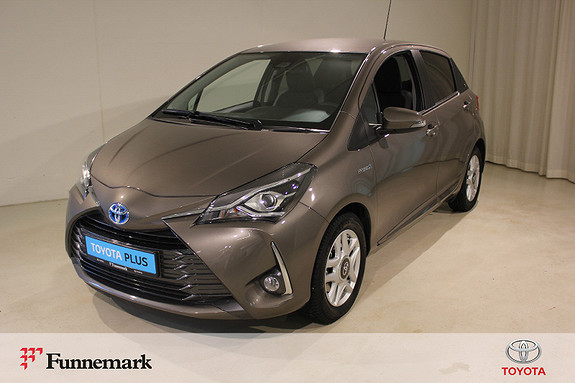 Toyota Yaris 1,5 Hybrid Y20+ e-CVT aut  2019, 2500 km, kr 229000,-
