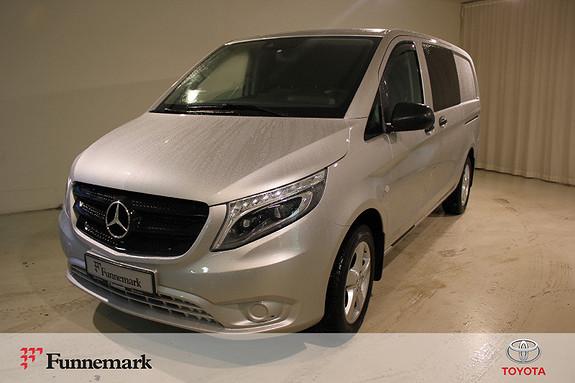 Mercedes-Benz Vito V119 4X4 A2 Lang aut  2017, 40500 km, kr 399000,-