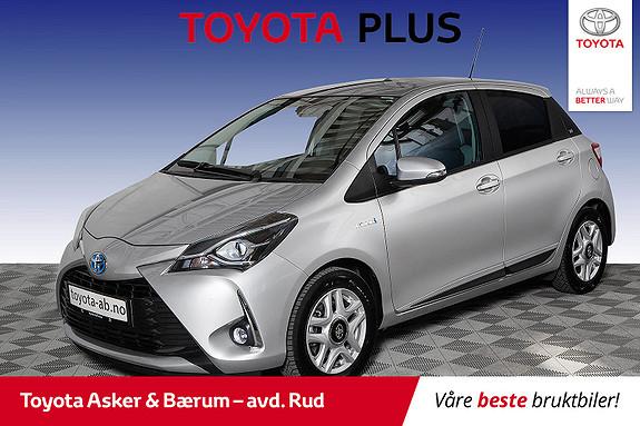 Toyota Yaris 1,5 Hybrid Y20+ e-CVT aut  2019, 22833 km, kr 223000,-