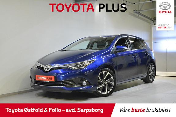 Toyota Auris 1,2 Turbo Style aut , HENGERFESTE 1300 KG,  2016, 56000 km, kr 198000,-