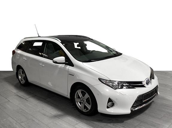 Toyota Auris Touring Sports 1,8 Hybrid Executive TOPPUTSYRT*GARANTI  2013, 107000 km, kr 139000,-