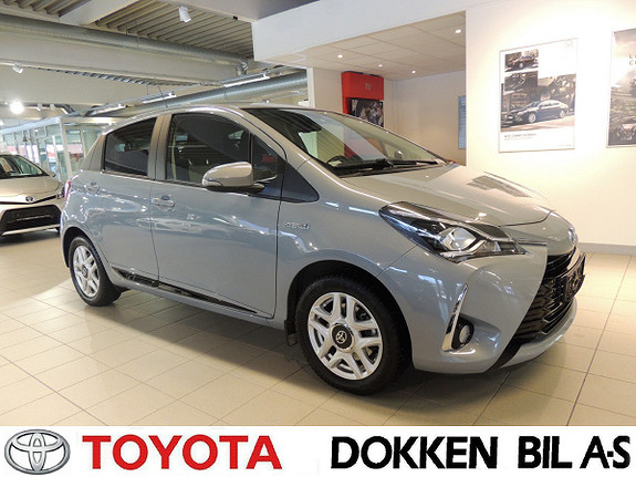 Toyota Yaris 1,5 Hybrid Active+ e-CVT aut  2018, 26000 km, kr 199000,-