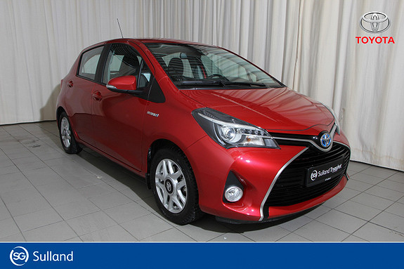 Toyota Yaris 1,5 Hybrid Active Go e-CVT aut  2016, 14100 km, kr 169000,-