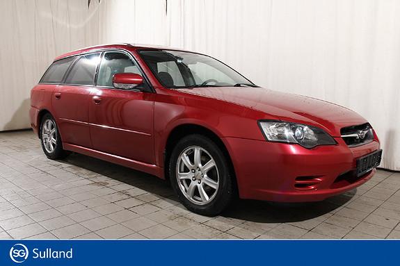 Subaru Legacy 2,0 I Fc Billigbil - EU ok til 31.10.2021  2005, 125737 km, kr 40618,-