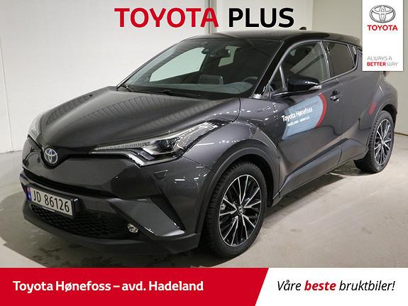 Toyota C-HR 1,8i Hybrid Lounge Tech Delskinn Dab+ Navi  2019, 2000 km, kr 359000,-