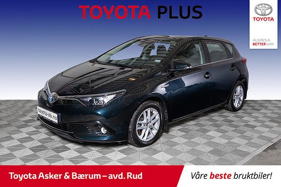 Toyota Auris 1,8 Hybrid E-CVT Active  2016, 46700 km, kr 199000,-